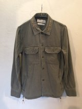 REMI RELIEF レミレリーフ/ MILITARY SHIRTS -NATIVE STUDS & BEADS-