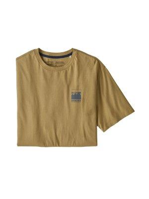 画像1: PATAGONIA パタゴニア/ メンズ・アルパイン・アイコン・リジェネラティブ・オーガニックコットン・Tシャツ MOKH