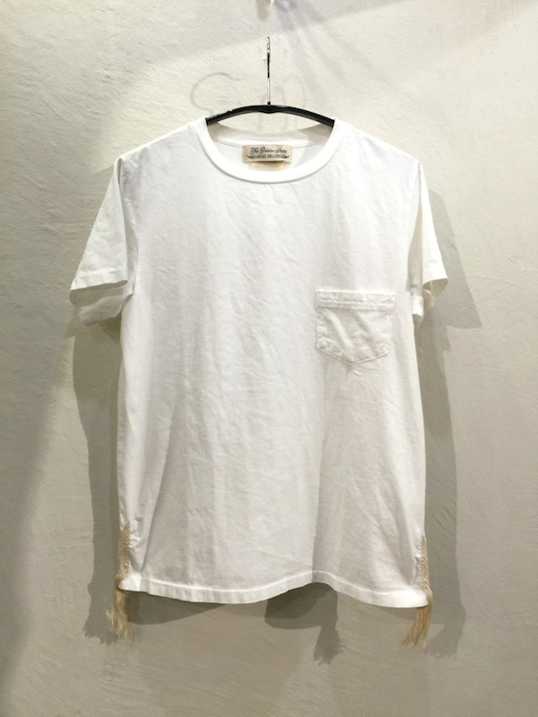 画像1: REMI RELIEF レミレリーフ/ POCKET T-SHIRT [EMBROIDERY GUATEMALA]