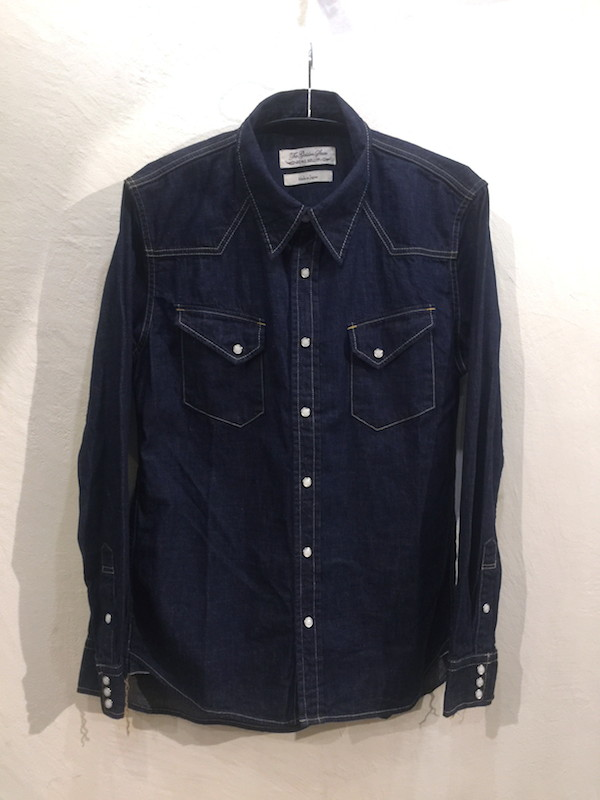 画像1: REMI RELIEF レミレリーフ/ BIGSIZE DENIM WESTERN SHIRTS