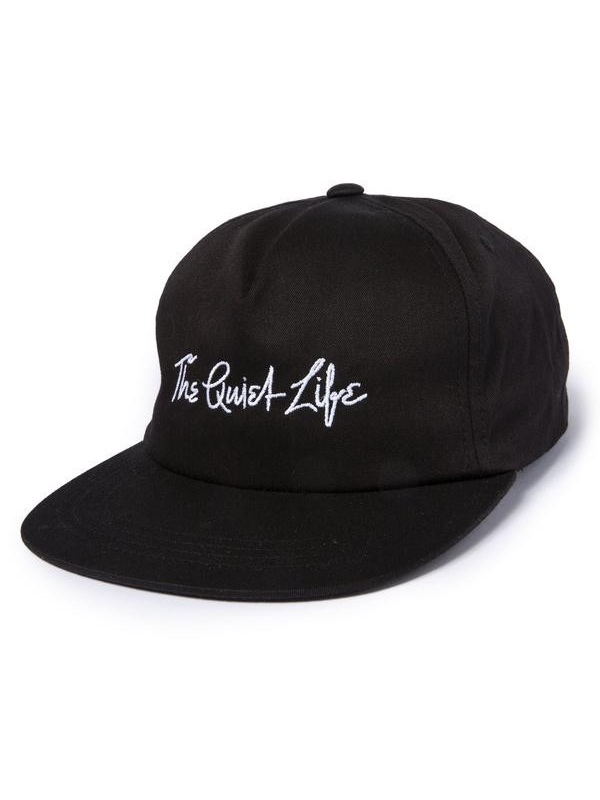 画像1: THE QUIET LIFE ザ クワイエット ライフ/ YAWN SCRIPT LOW RISE UNSTRUCTURED SNAPBACK HAT