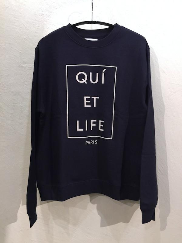 画像1: THE QUIET LIFE ザ クワイエット ライフ/ PARIS CREW NECK