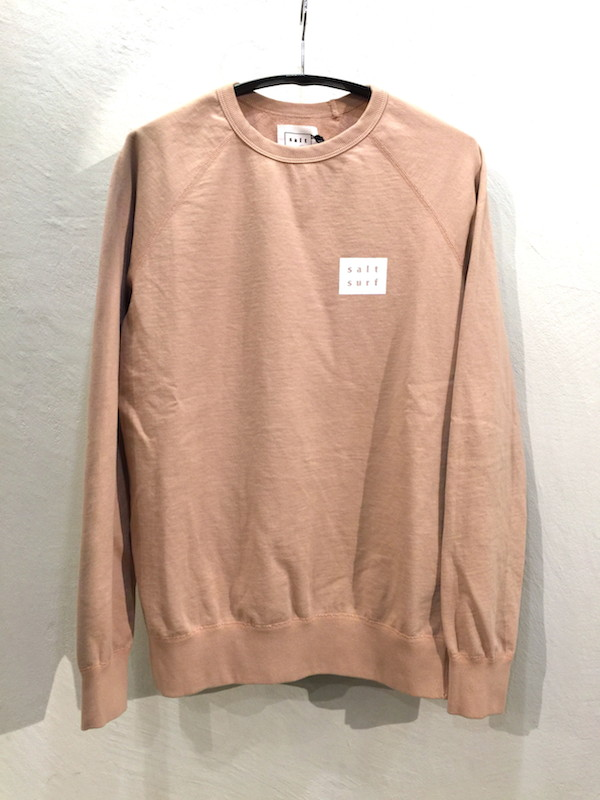 画像1: SALT SURF ソルト サーフ/ MINI LOGO SWEATSHIRT