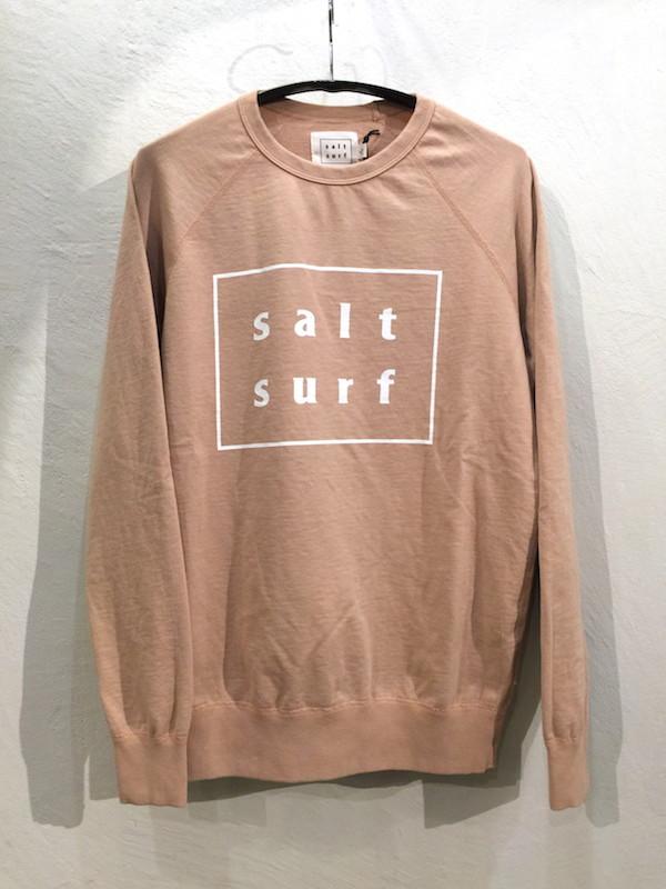 画像1: SALT SURF ソルト サーフ/ LOGO SWEATSHIRT