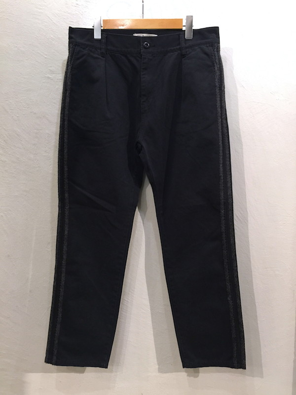 画像1: REMI RELIEF レミレリーフ/ KNITLINE CHINO PANTS