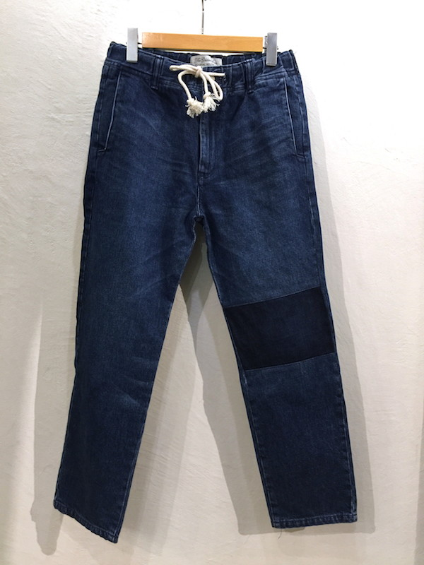 画像1: REMI RELIEF レミレリーフ/ DENIM EASY PANTS/ SWITCH