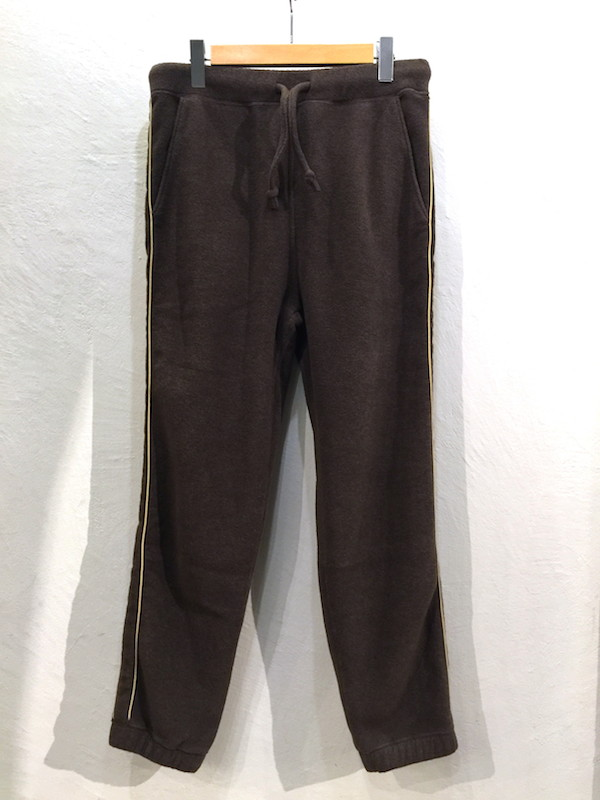 画像1: REMI RELIEF レミレリーフ/ FLEECE EASY PANTS