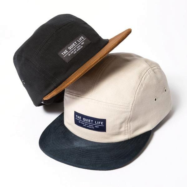 画像1: THE QUIET LIFE ザ クワイエット ライフ/ CORD COMBO 5 PANEL CAMPER HAT