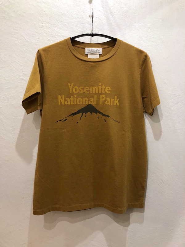 画像1: REMI RELIEF レミレリーフ/ LONG WASH FINISHED TEE/ YOSEMITE
