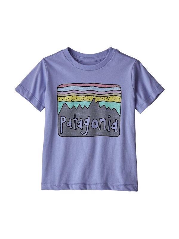 画像1: PATAGONIA パタゴニア/ ベビー・フィッツロイ・スカイズ・オーガニック・Tシャツ LVBL