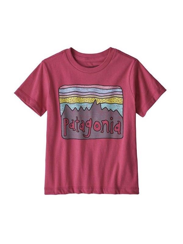 画像1: PATAGONIA パタゴニア/ ベビー・フィッツロイ・スカイズ・オーガニック・Tシャツ REPI
