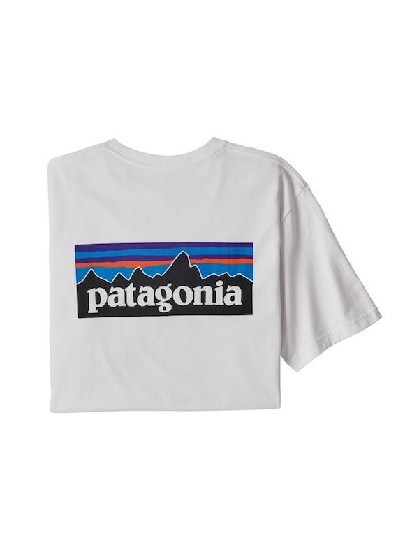 画像1: PATAGONIA パタゴニア/ メンズ・P-6ロゴ・レスポンシビリティー WHT